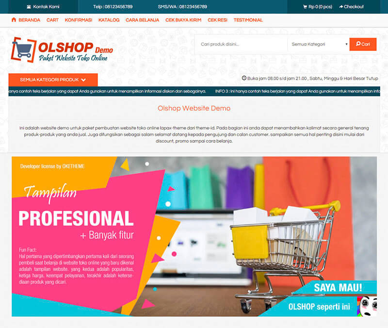 jasa pembuatan website toko online murah dan berkualiitas