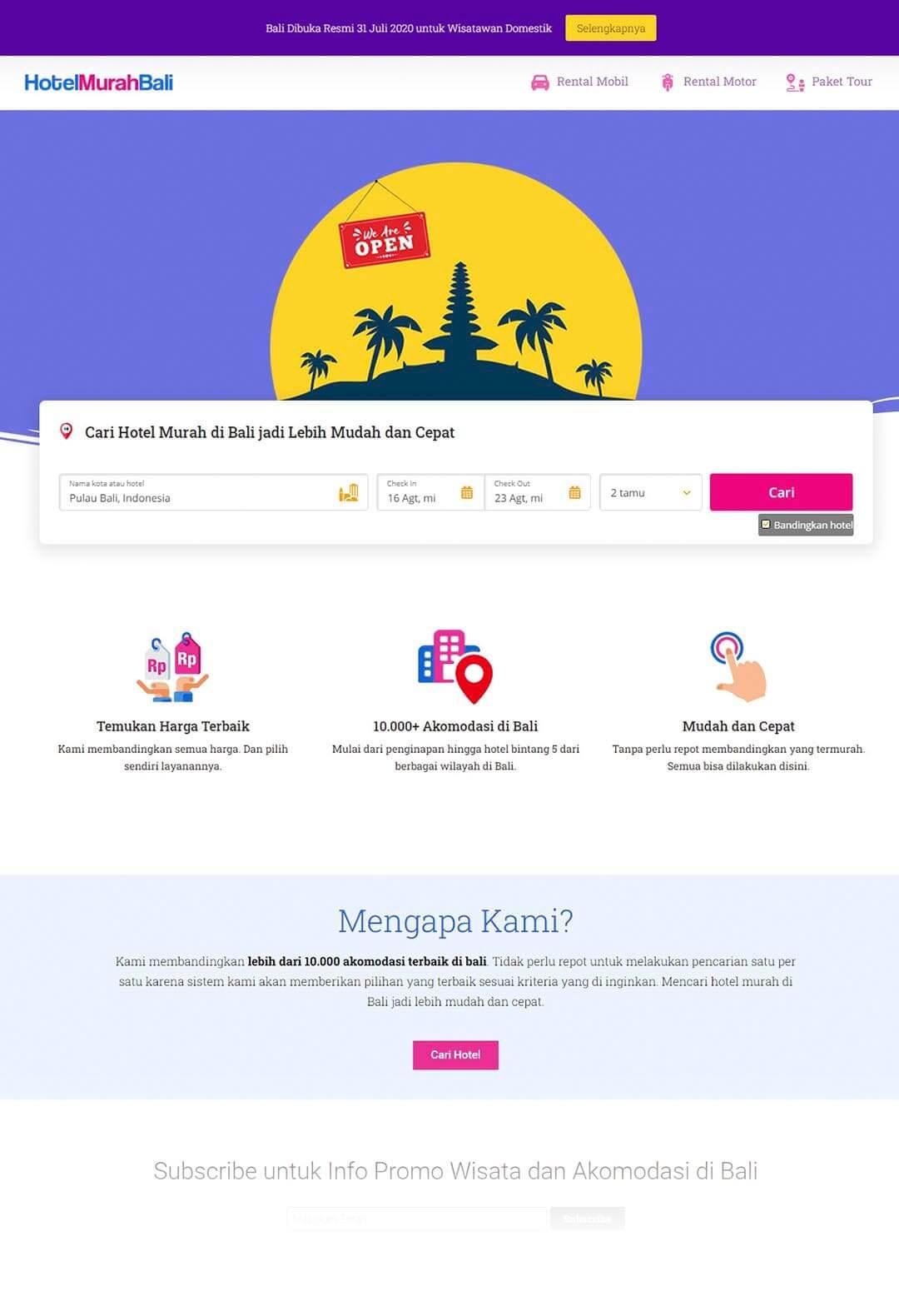 Hotel Murah Bali - Beranda-min