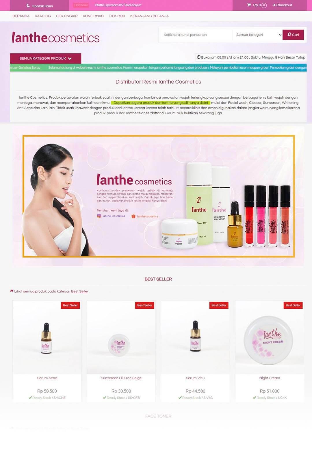 Ianthe Cosmetics - Beranda-min